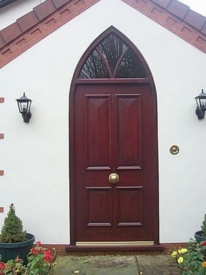 Gothic Style Arch Frame and Door