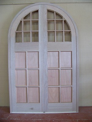 Hardwood Semi-circle Top Doors & Hardwood Semi-circle Top Doors | A1 Joinery Ltd Preston