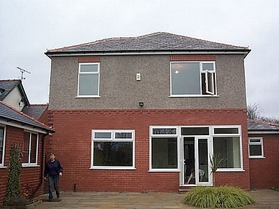 Rear Single Storey Extension Above Existing