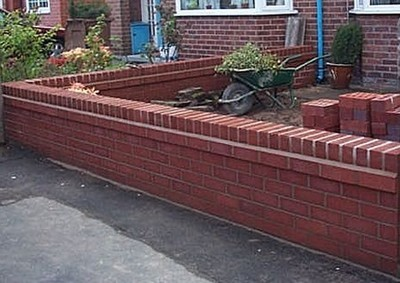 Front Garden Wall A1 Joinery Ltd Preston