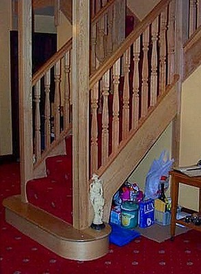 Single Bullnose Staircase