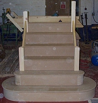 Double Bullnose Staircase